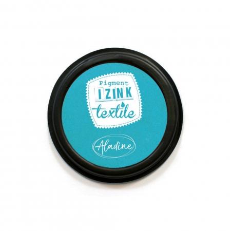 Encreur textile bleu pastel Izink