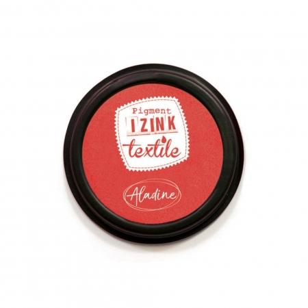 Encreur textile Izink rouge santal