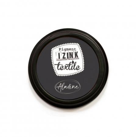 Encreur textile Izink noir khôl