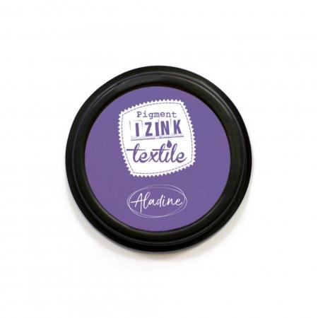 Encreur textile Izink violet grenache
