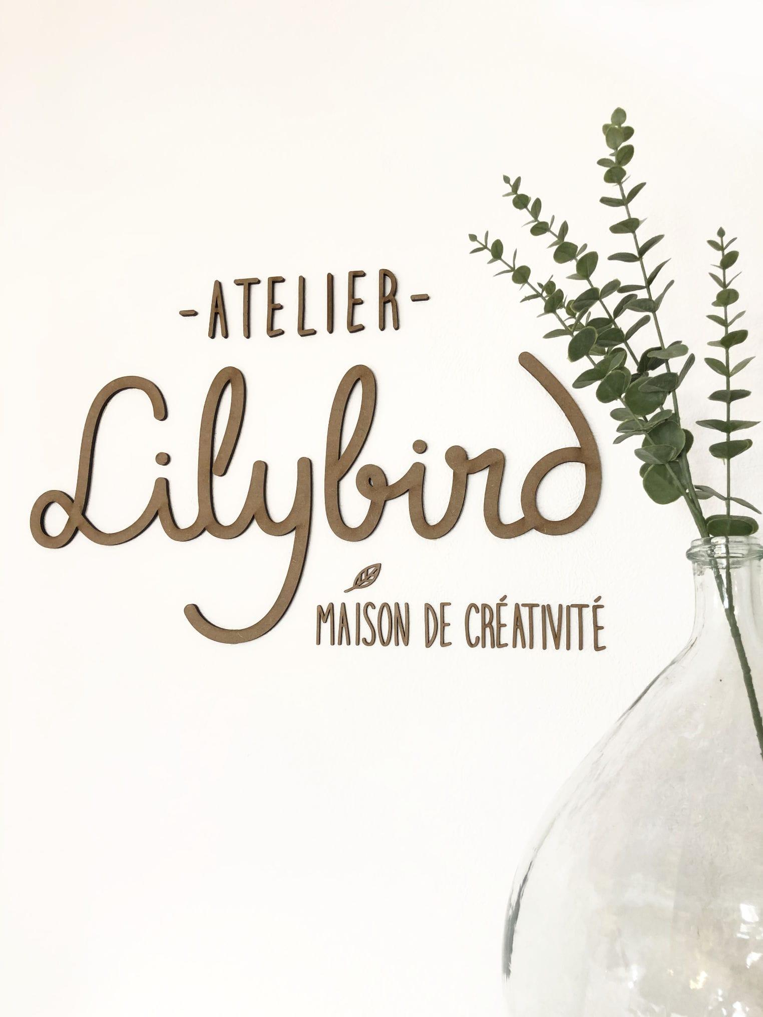 Enseigne Atelier Lilybird