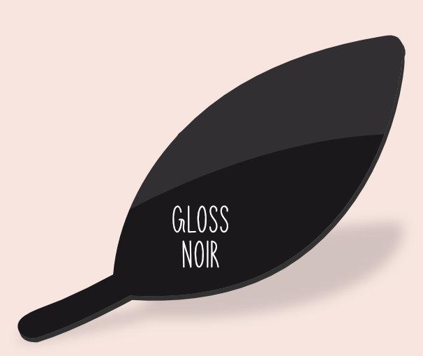 Gloss noir